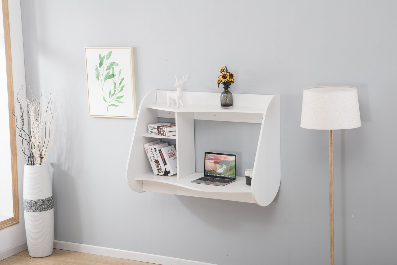 Schwarz MCombo Wandtisch Wandschreibtisch Schreibtisch Wandschrank Esstisch 110 x 80 cm