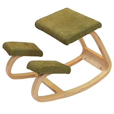 Amazon.com: XNLIFE Simple Solid Wood Correct The Sitting ...