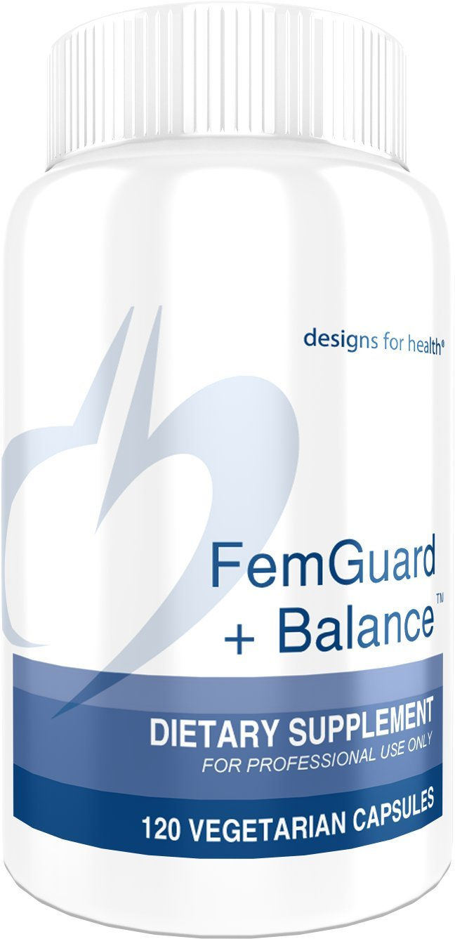 Designs for Health - FemGuard Balance - with Vitex, DIM, & Black Cohosh, 120 Capsules
