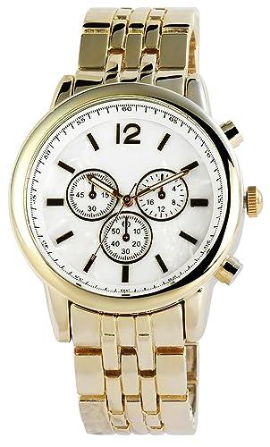 Asos Reloj analógico para Mujer de Cuarzo con Correa en Varios Materiales 100402000011: Amazon.es: Relojes