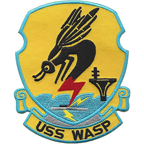 USS Wasp CV-18 CVA-18 CVS-18 Carrier Attack Ship Patch
