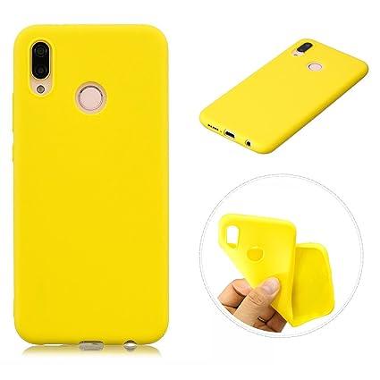 OnlyCase Funda Huawei P20 Lite,Carcasa Elegante TPU Suave Silicón Gel de Alta Resistencia y Flexibilidad Anti-arañazos y Antideslizante Protectora, ...