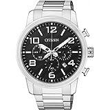 Citizen Herren-Armbanduhr Chronograph Quarz Edelstahl AN8050-51E
