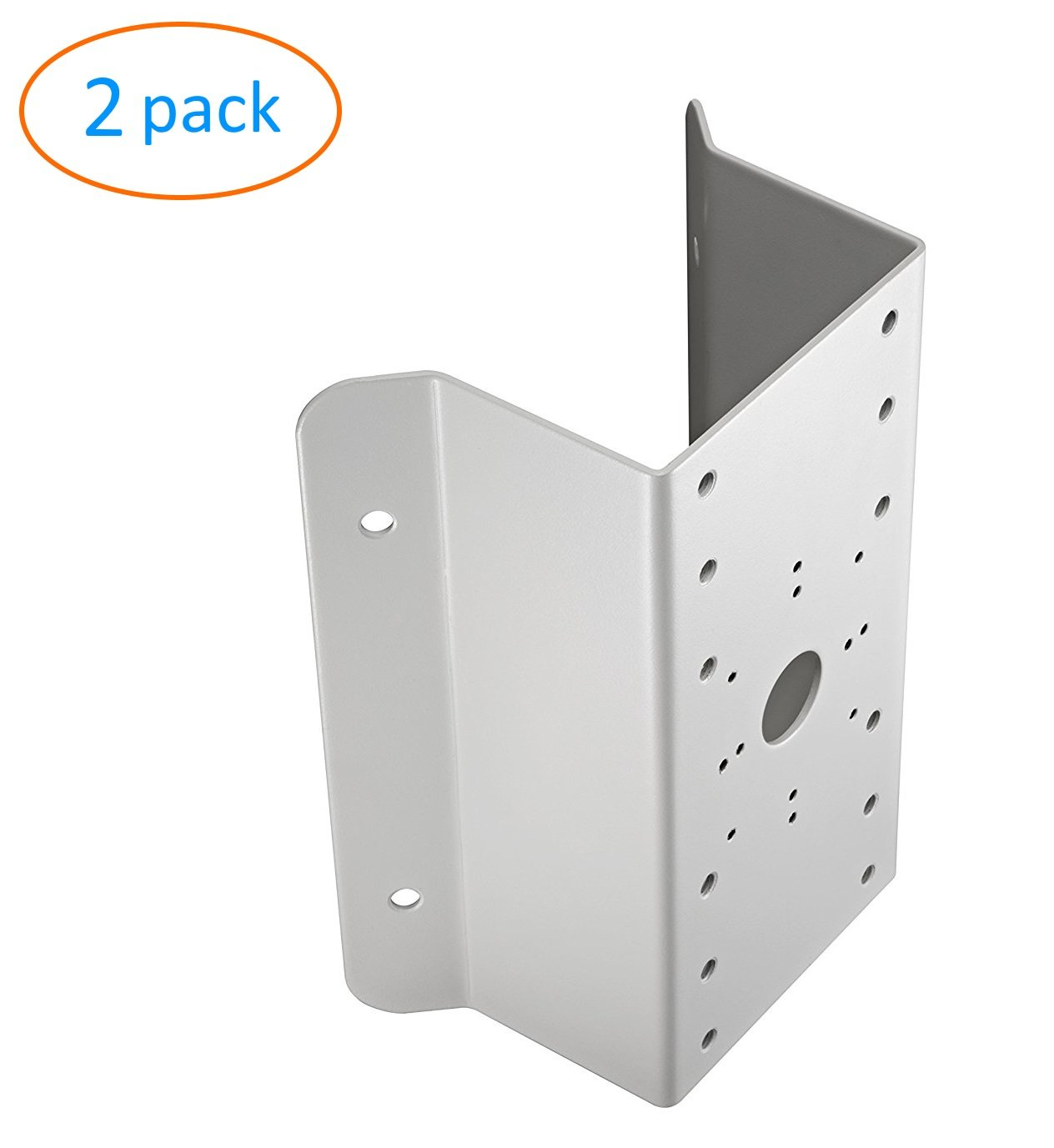 cm DS-1276ZJ Universal Corner Bracket Most Hikvision Wall Mounts Cameras - 2 Pack by KENUCO