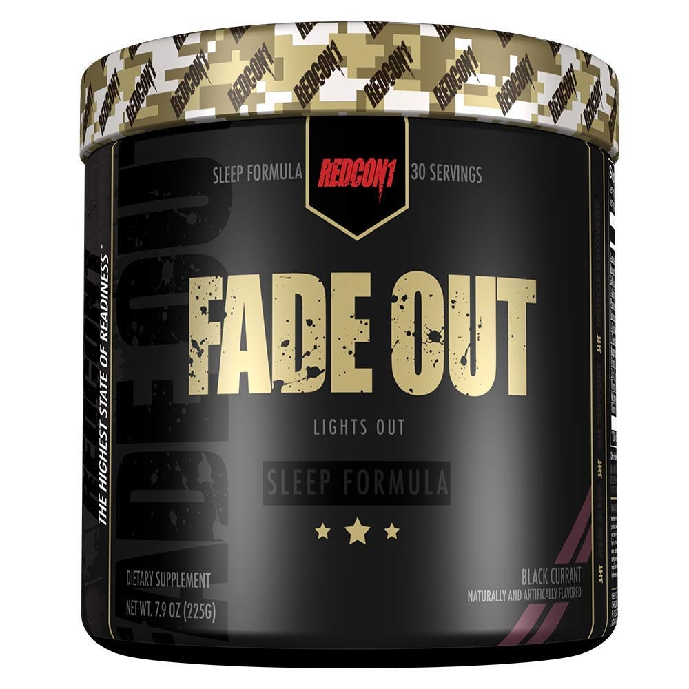 Redcon1 - Fade Out (Newly Formulated) 30 Servings, Sleep Formula, Melatonin, Chamomile (Pineapple) by Redcon1