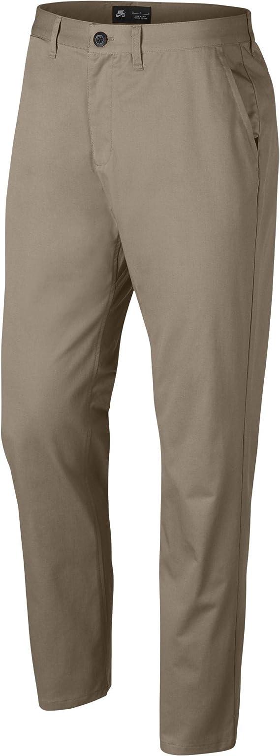 falta de aliento flor cuscús  Nike SB Dri-FIT FTM Men's Standard Fit Pants - 937986 (Khaki, 36): Clothing  - Amazon.com