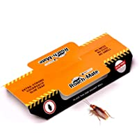 Roach-Mate™ - Cockroach Glue Traps - Extra-strength, Bait-free, Odourless, Non-toxic, Family-safe - 12 pack