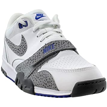 best service 09d39 03139 Nike Air Trainer 1 Low ST Mens White Cross Training Shoes Size 11 UK UK 11  Amazon.co.uk Sports  Outdoors