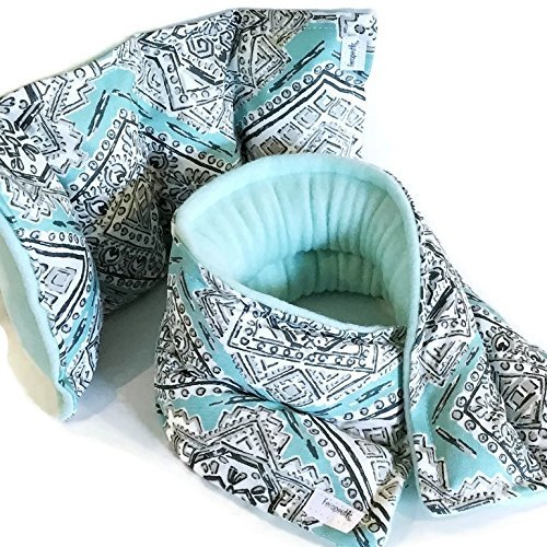 Microwave Neck Wrap Lower Back Heat Pack, Bean Bag Style Heating Pad Set Warmie