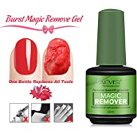 Magic Nail Polish Remover Professional Removes Soak-Off Gel Nail Polish In 3-5 Minutes, Easily & Quickly,Don't Hurt Your Nails