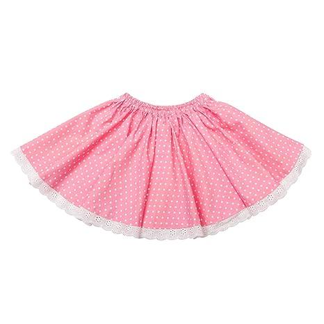 Falda giratoria de algodón y bordada inglesa - Cancan: Amazon.es: Bebé