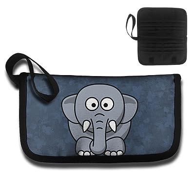 e1c3deeace1d well-wreapped Cartoon Elephant Travel Wallet Passport Holder ...