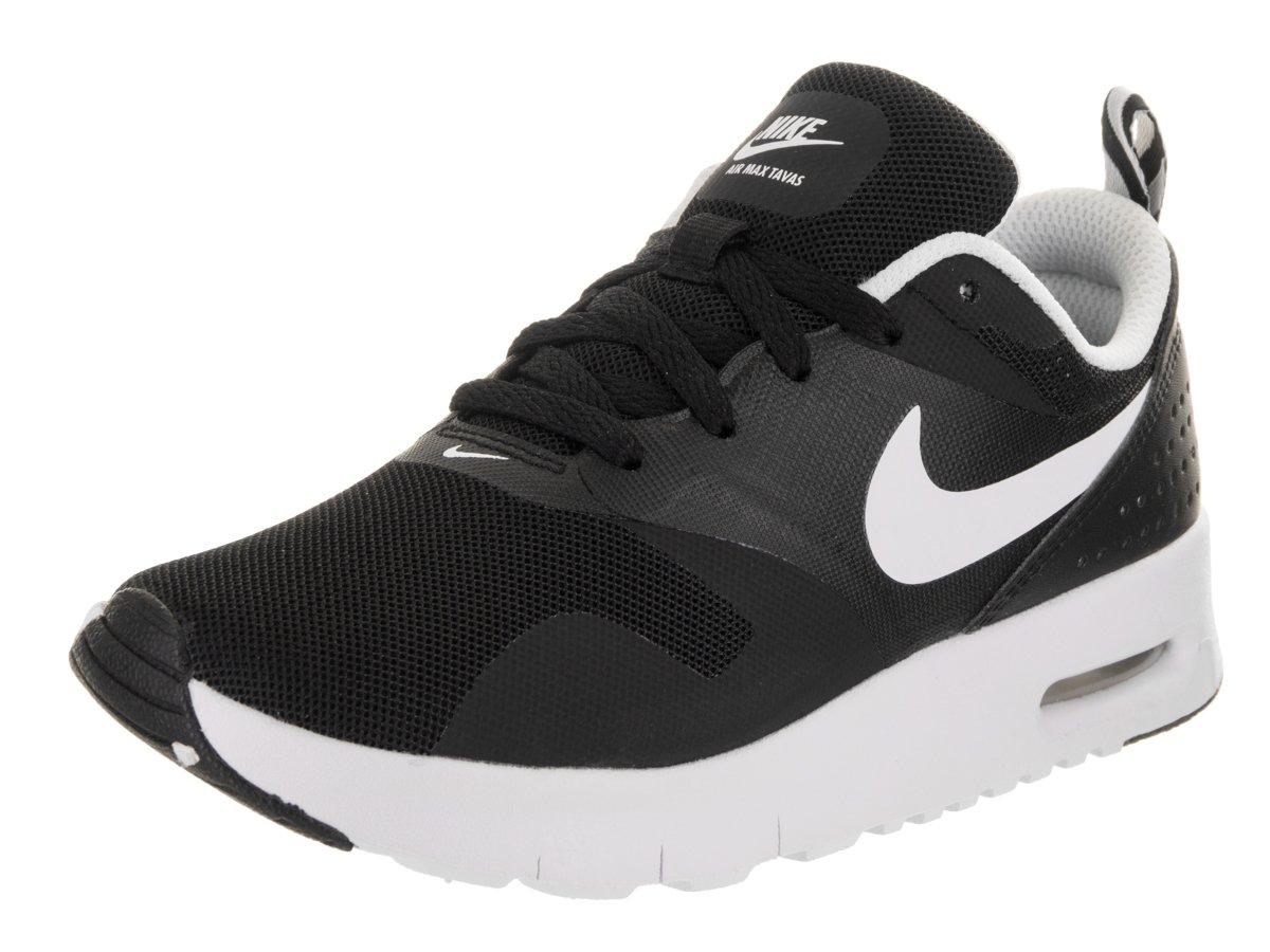 Nike Kids Air Max Tavas (PS) Black/White Running Shoe 2.5 Kids US