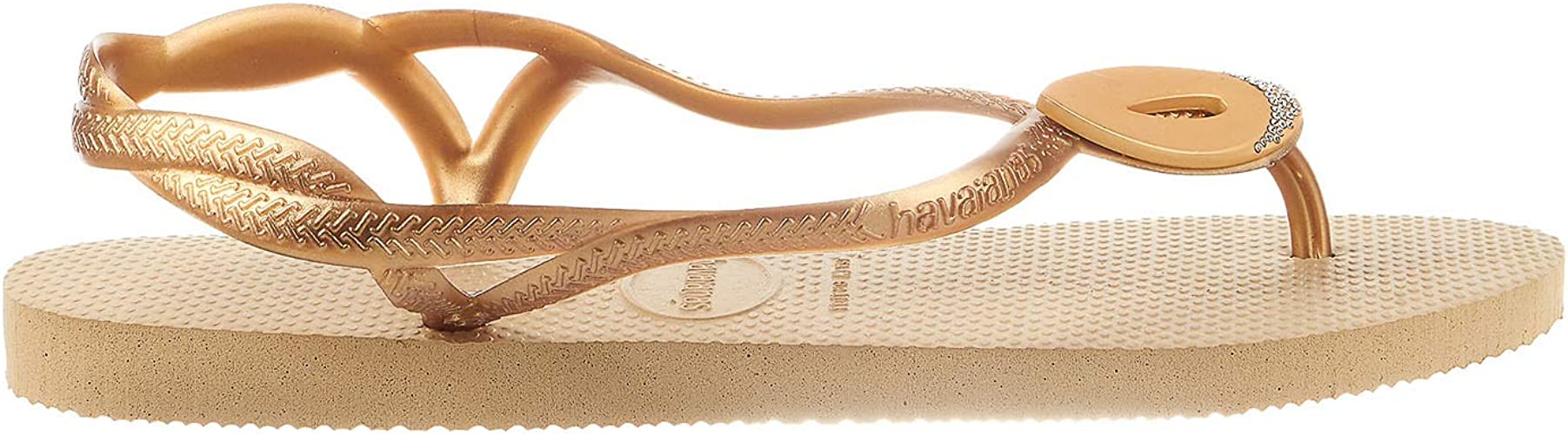 Havaianas Girls Sandals  Luna Rose Gold Flip Flops Summer Shoes