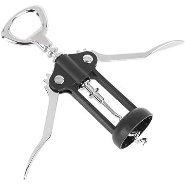 Wine Opener - Corkscrew Bottle Opener - Manual Wing Cork Screw Remover
