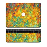 "Laptop Sticker ''Painter's Pallet"" with Free Track Pad Decal 