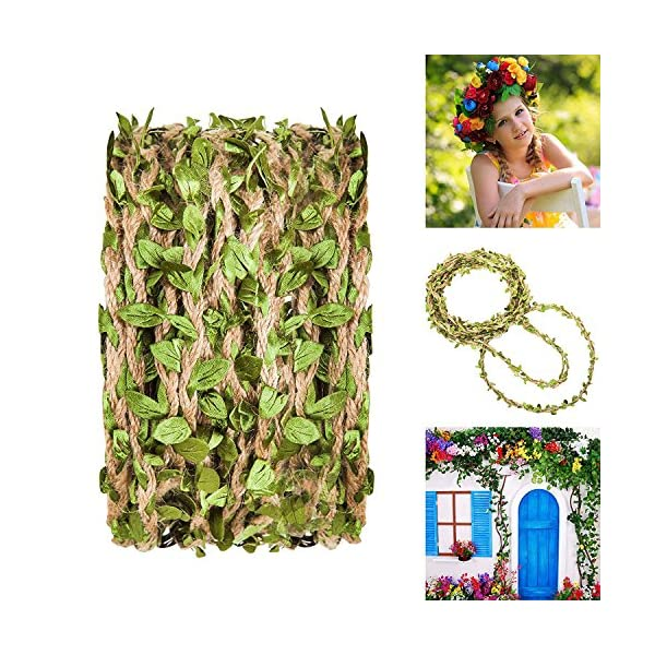 Hecaty-132-Feet-Artificial-Vine-Fake-Foliage-Leaf-Plant-Garland-Rustic-Jungle-Vines-with-Twine-for-Baby-Shower-Wreath-Wedding-Home-Decor132-ft-with-Twine