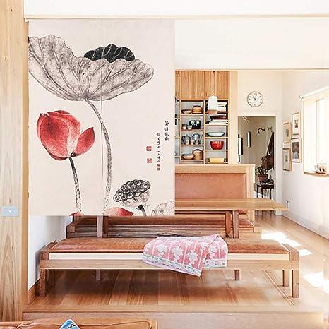 Home \u0026 Garden Japanese Noren Curtain Cotton Linen Short