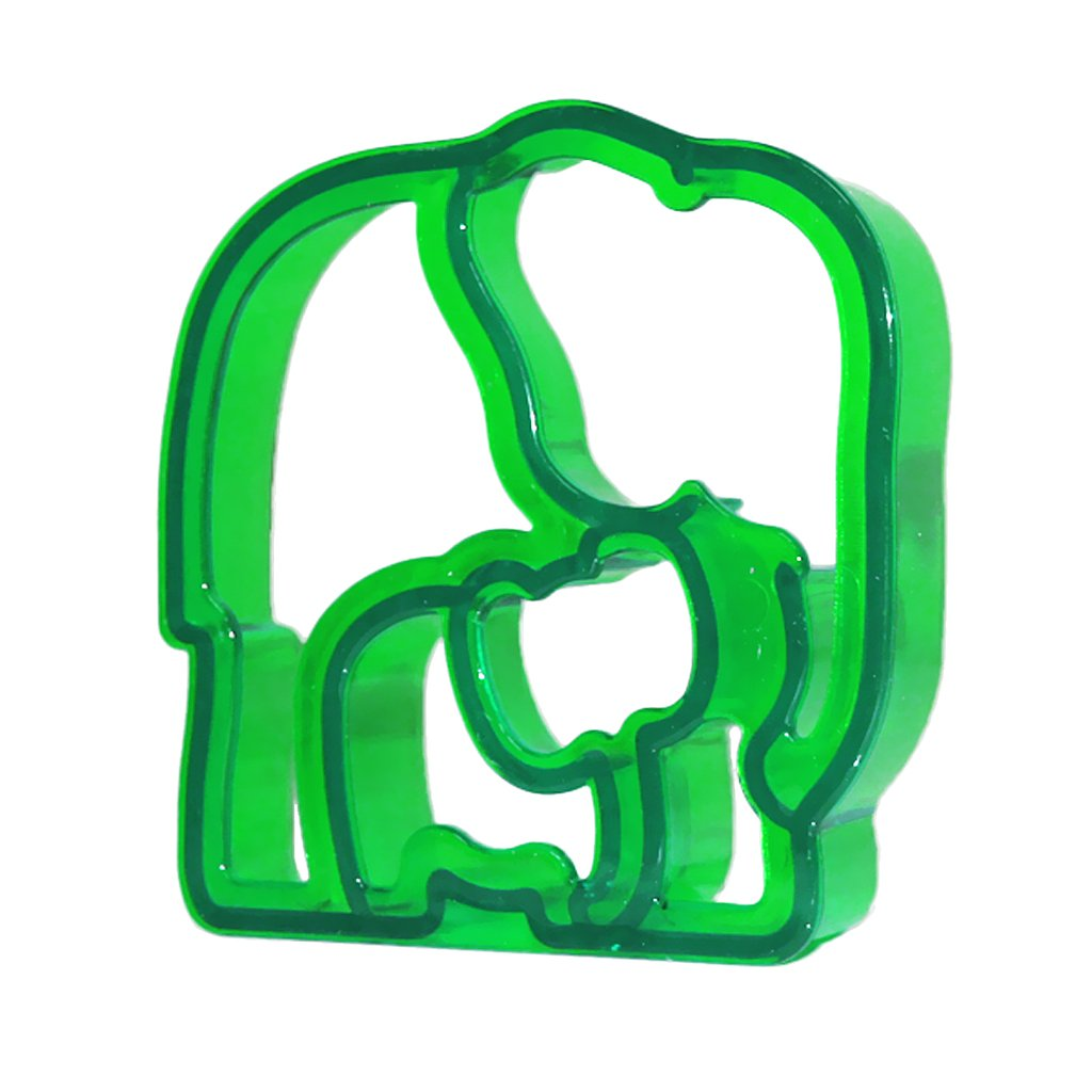 Elephant-Shaped Sandwich Cutter Cookie Biscuit Cutter - Blue Unbranded TRTA11A