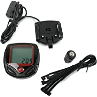 Bike Bicycle Cycling Sports LCD Computer Odometer Speedometer Waterproof