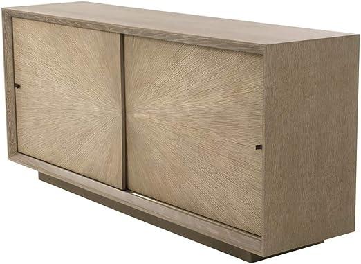 Casa Padrino aparador 2 Puertas correderas marrón 180 x 45 x H. 80 cm - Calidad: Amazon.es: Hogar