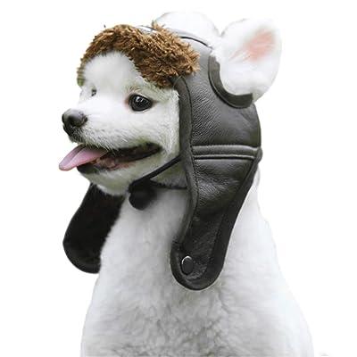 HAOCOO Dog Aviator Hat