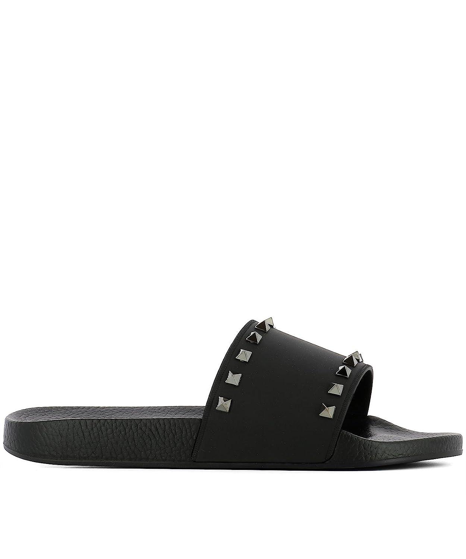 14f4d44b58e Men's PY2S0873JGC0NO Black Rubber Sandals