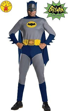Rubies DC Comic Batman 1966 Version Disfraz, Multicolor (300543XL ...