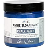 CHALK PAINT (R) by Annie Sloan - Napoleonic Blue (Project Pot - 4oz) – Decorative paint for furniture, cabinets, floors, home decor and accessories – Water-based – Non-toxic – Matte finish