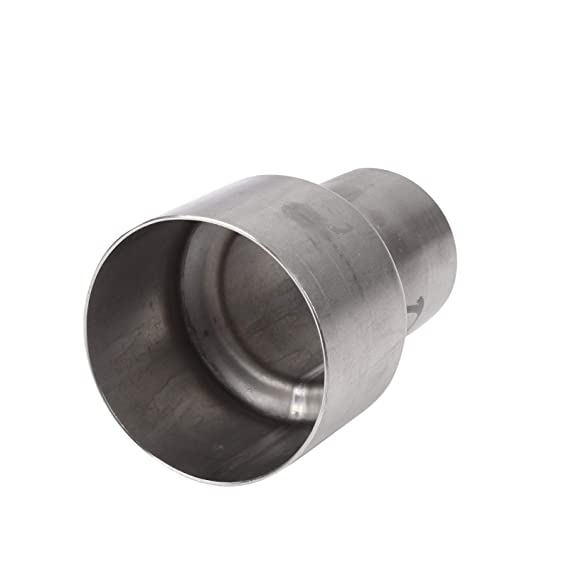 2.5/'/' to 2/'/' Exhaust Pipe Connector Adapter Reducer Stainless Steel Tube !