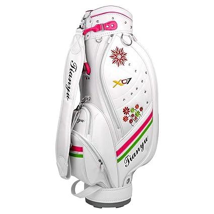Bolsa de palos de golf de pie Impermeable PU Bolsa de golf ...