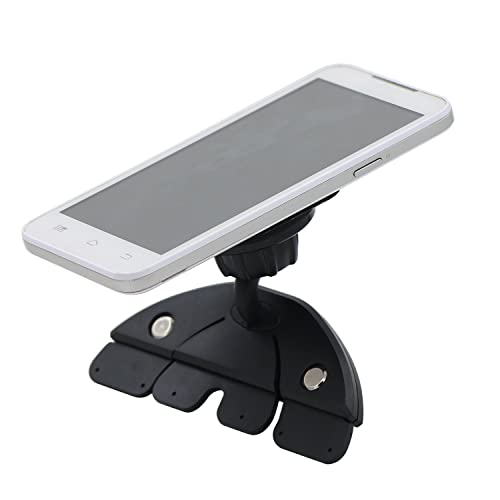 Bluelans® Universal Magnetic CD Slot Car Mount Holder (Black) for the Samsung Galaxy S6/S6 Edge, Apple iPhone 6s/6s Plus/6/6Plus/5S/5C/5/4S/4, Samsung Galaxy S5/S4/S3/S2, Samsung Galaxy Note2/3/4/5,HTC One M7/M8/M9, Nokia Lumia 920 and All Smartphones/ Mini Tablets/ GPS (Magnetic CD Slot Car Mount)