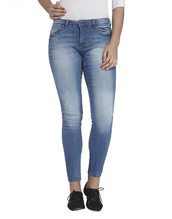 Skinny Jeans - Blau Jacqueline de Yong amOW2ZgXC
