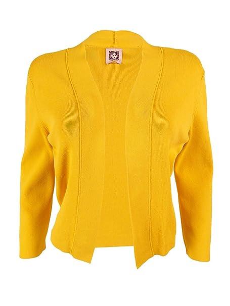 Amazon.com: Anne Klein Bolero chaqueta de punto de la mujer ...
