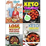 Keto made easy, one pot ketogenic diet cookbook, keto diet for beginners and keto crock pot cookbook 4 books collection set