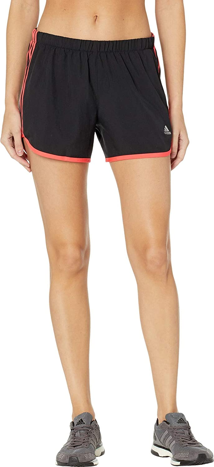 Black Shock Red adidas M20 Shorts