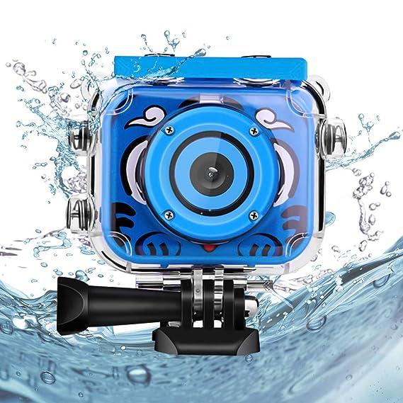 Amazon.es: WelltopCámara subacuática para niños, 1080P HD Cámara ...