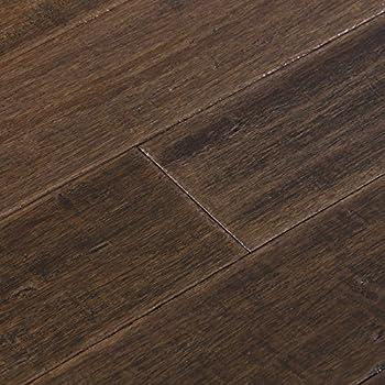 Cali Bamboo Solid Bamboo Flooring Dark Brown Vintage