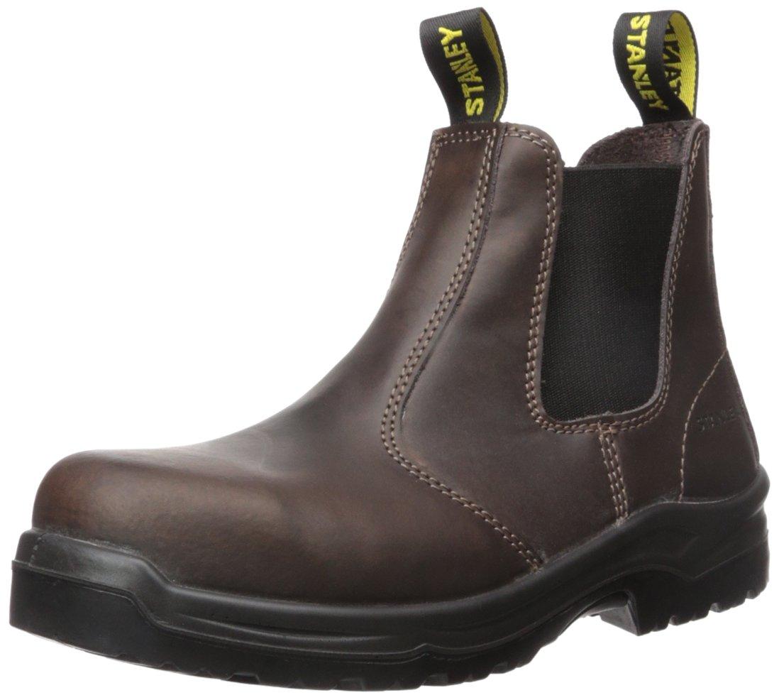 Stanley Men's Dredge Soft Toe Industrial Construction Shoe, Brown, 10.5 M US