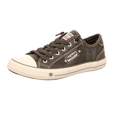 DOCKERS Damen Low Sneaker Grau