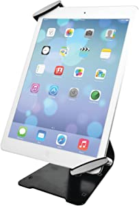 "CTA Digital: Universal Anti-Theft Security Grip with POS Stand for 7-11"" Tablets/iPad 10.2-Inch (7th Gen.), 11-Inch iPad Pro, iPad Air 2, iPad Mini 5, Galaxy Tab, Note 10.1 & More (PAD-UATGS)"
