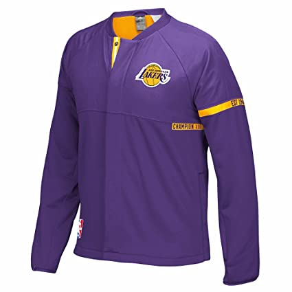68505b8b302 adidas Los Angeles Lakers NBA Purple 2016-17 Authentic On-Court Team Issued  Pro
