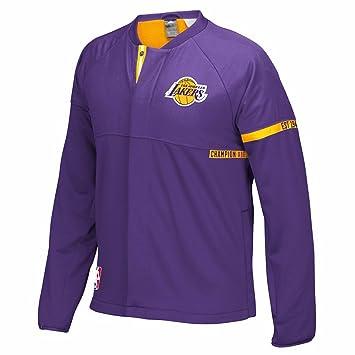 Adidas 2016 De Angeles Lakers Los Morado 17 Equipo Nba Auténtico xQCeWBrod