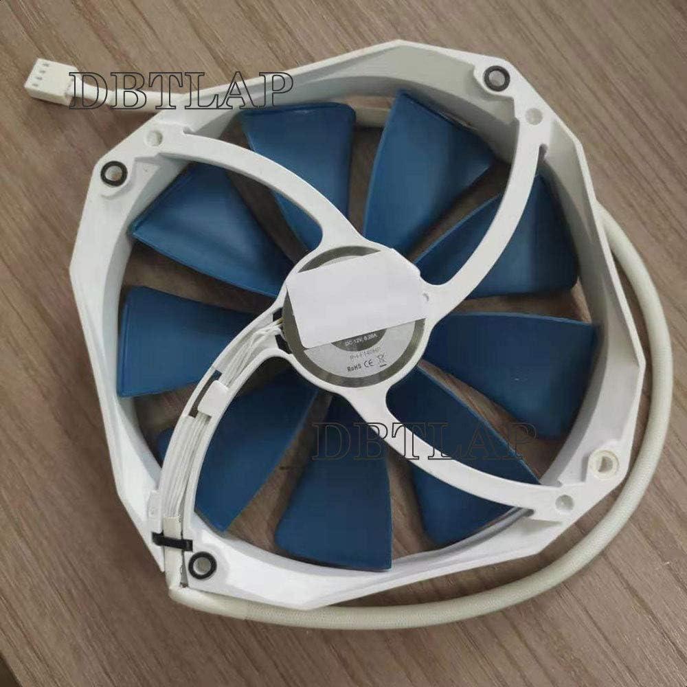 DBTLAP Ventilador Compatible para Phanteks 140mm White High Static Pressure PWM Case Ventilador, 1600RPM MAX: Amazon.es: Electrónica