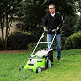Greenworks 40V 20-Inch Cordless Twin Force Lawn