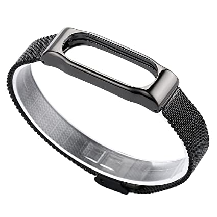 For Xiaomi Mi Band 2 Odeer (TM) Milanese Magnetic Watch Loop Stainless  Steel Strap Bracelet For Xiaomi Miband 2