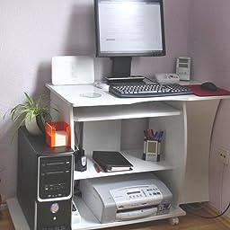 Computertisch drucker modern  Amazon.de:Kundenrezensionen: FineBuy DAVID Computertisch mit ...
