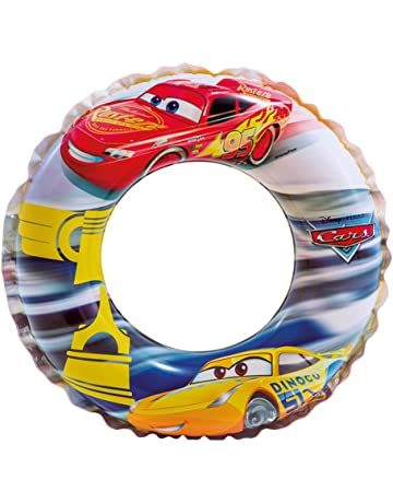 Intex 58260NP - Flotador hinchable Cars 51 cm de 3 a 6 años