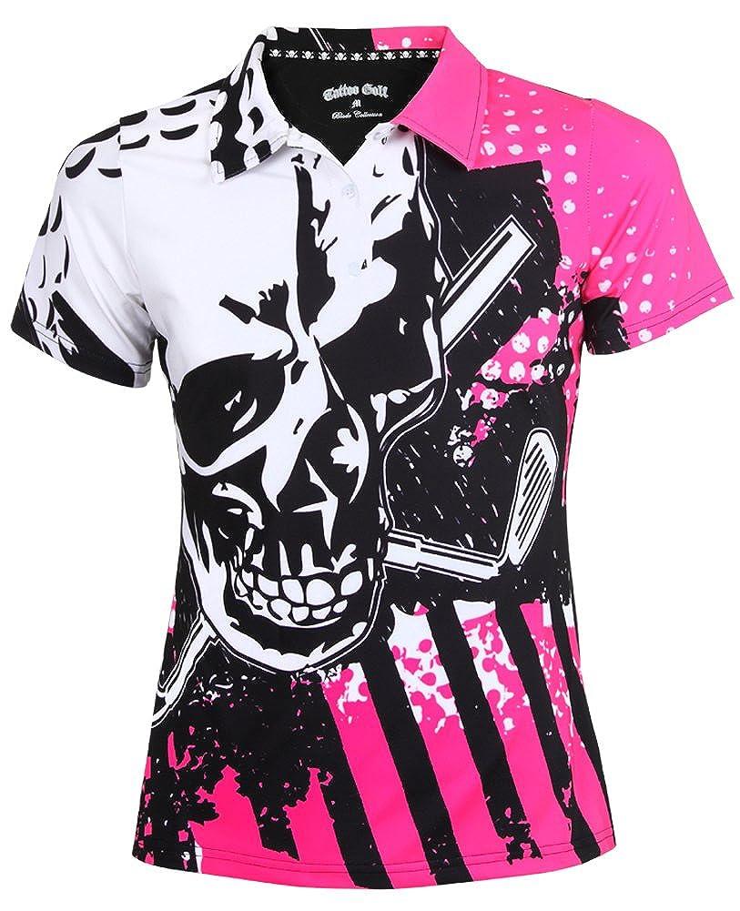 ac81703a Womens Hot Pink Golf Shirt - DREAMWORKS