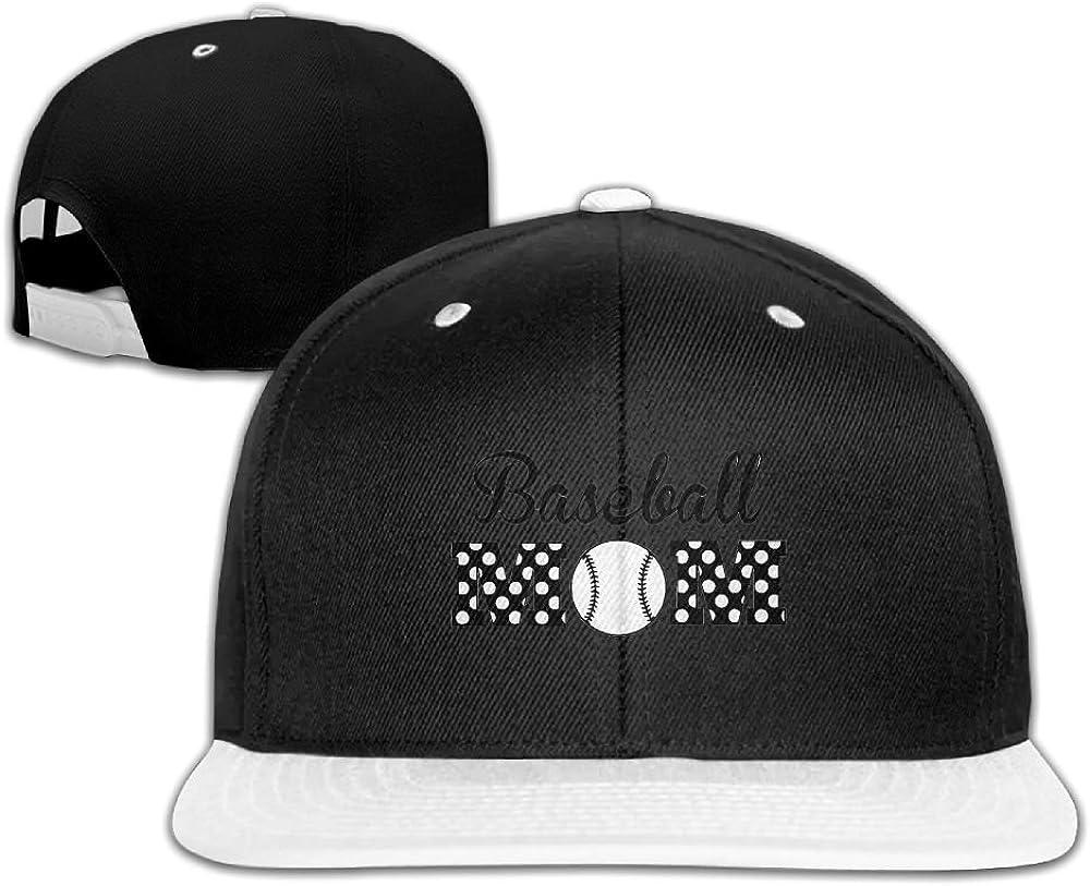 Humaoe Baseball Mom Fashion Peaked Baseball Caps//Hats Hip Hop Cap Hat Adjustable Snapback Hats Caps for Unisex